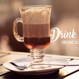 RECEITA / DRINK : IRISH COFFEE